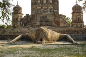 Frog Temple in Lakhimpur, Kheri and Lakhimpur