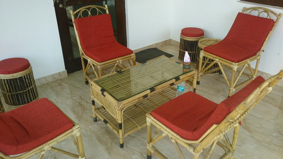 Dudhwa Wilderness Camp - Common sitting area